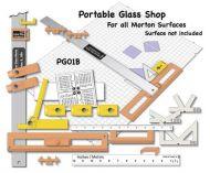 13190CS-Case Morton Portable Glass Shop #PG01B 8/CS