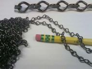 17879-Jack Chain Pewter 17gge 25' per Unit
