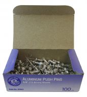 "15580-Push Pins 5/8"" Steel Point"