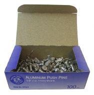 "15590-Push Pins 1/2"" Steel Point"