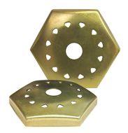 33340-Vented Hexagon Vase Cap 1.5