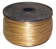 36500-Electrical Wire 250' Spool (Clear Gold)
