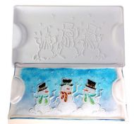 47320-Snowman Platter Mold