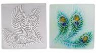 47326-Peacock Texture Tile Mold 7