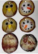 47382-Log Slice Ornaments Mold