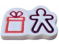 47568-Gingerbread Man & Gift Mold