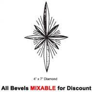 60635-Diamond Engraved Starburst 4