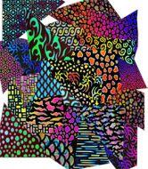 74580-1/2# Dichro. Pattern Scrap 90 CBS