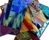 74586-1/2# Dichro. Specialty Scrap 90 CBS Random Sized Pieces