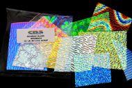 74588-1/2# Wissmach Standard Scrap Clear 90 CBS Random Sized Pieces