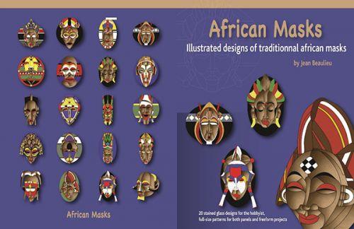 90322-African Masks Bk.
