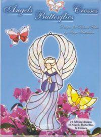 90453-Angels, Butterflies & Crosses Bk.