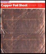 12560-Venture Adhesive Copper Foil Sheet 1.25 Mil 12