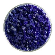 BU014793F-Frit Coarse Deep Cobalt Blue Opal 1# Jar