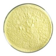 BU022098F-Frit Powder Sunflower Yellow Opal 1# Jar