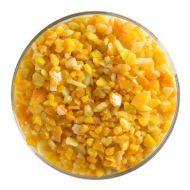 BU032193F-Frit Coarse Pumpkin Orange Opal 1# Jar