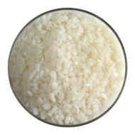 BU092093F-Frit Coarse Warm White Opal 1# Jar