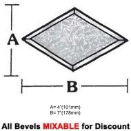 BVD47G-Glue Chip Diamond Bevel 4
