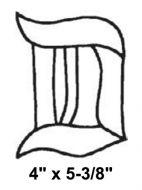 BLD-Bevel Letter D