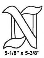 BLN-Bevel Letter N