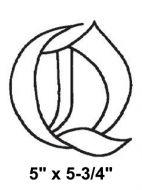 BLQ-Bevel Letter Q