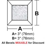 BV33G-Glue Chip Square Bevel 3