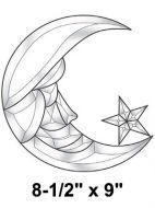 EC132-Exquisite Cluster Moon & Star
