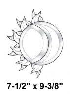 EC134-Exquisite Cluster Sun & Moon