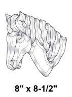 EC184-Exquisite Cluster Horse Head