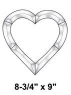 EC252-Exquisite Cluster Heart