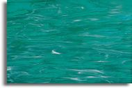SI82392-Teal Green/White Wispy Iridescent